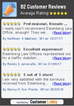 Eisenberg Law Madison WI - Customer Reviews