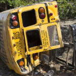school bus accident and injury
